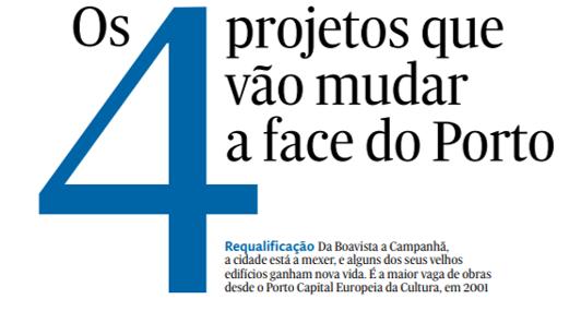 Dois dos quatro projetos que vão mudar o Porto têm assinatura Lucios